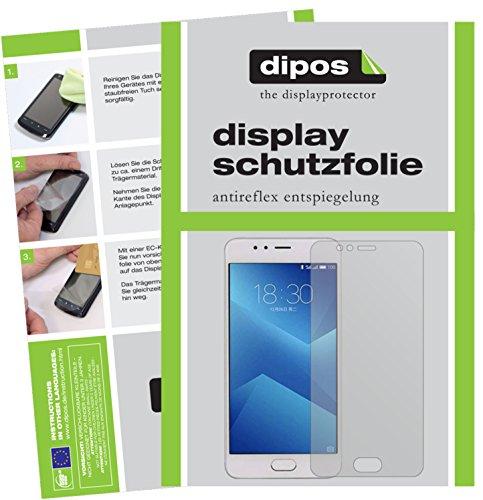 dipos I 2X Schutzfolie matt passend für Meizu M5s Folie Bildschirmschutzfolie