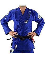 Bõa HB1One Kimono JJB azul, BJJ Gi hombre, Hombre, color azul, tamaño L
