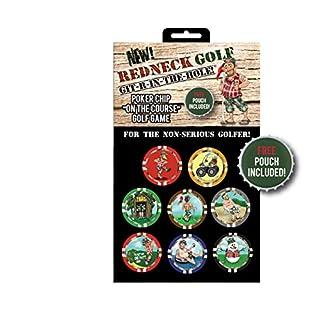 AMAGolf Vegas Golf Games Poker Chip Game (Redneck Golf Edition)