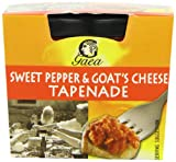 Gaea Sweet Pepper and Goat's Cheese Tapenade 100 g (Pack of 6)