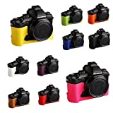 10 Farbe! Echte Handgemachte Hartledertasche Kamera Leder Hälfte Case Tasche Hülle für Olympus STYLUS 1 oder Stylus 1s (Bitte hinterlassen Sie eine Nachricht, welche Farbe Sie bevorzugen)