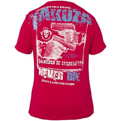 Yakuza T-Shirt TSB-340 Rot Rot