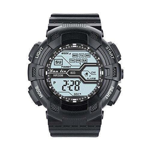 yazilind-unisex-sports-watch-multifunction-led-light-digital-waterproof-wristwatch-black
