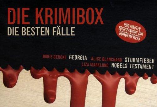 Preisvergleich Produktbild Die Krimibox. Die besten Fälle: Blanchard, Alice: Sturmfieber / Gercke, Doris: Georgia / Marklund, Liza: Nobels Testament