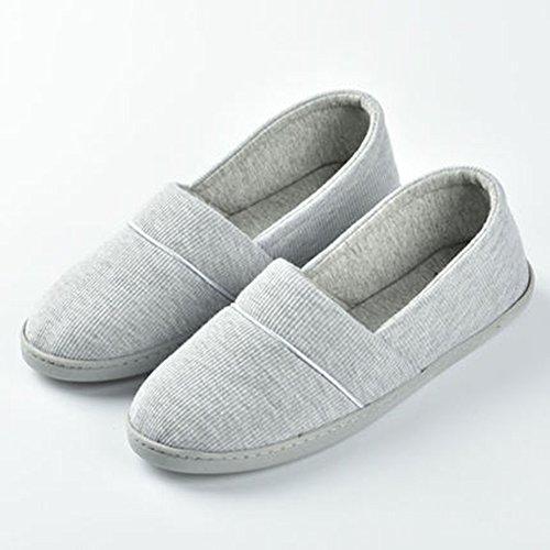 Chaussures pour les mois Printemps et automne Paquet doux avec pantoufles maternelles Chaussons post-partoir Pantoufles glissières intérieures pour jour d'été (3 couleurs en option) (taille facultativ B