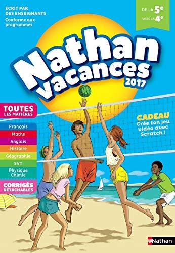Nathan Vacances 2017 5ème vers 4ème