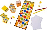 Mattel Games 887961236088 Pictionary, Quick-Draw Guessing Game with Adult and Junior Clues, Grey