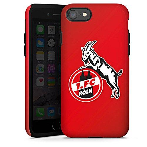 Apple iPhone 6 Tasche Hülle Flip Case 1. FC Köln Fanartikel Fußball Tough Case glänzend