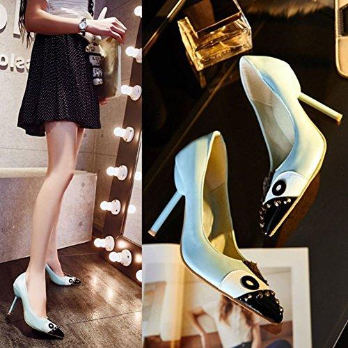 Fashion tacchi molto alti di punta/Asakuchi sottile tacco scarpe donna ? A