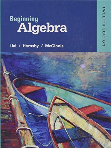 Download Pdf Beginning Algebra By Margaret L Lial Read
