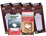 Human-Wellness Lot de 4 filtres à Eau pour Machine à café DeLonghi Compatible DLS C002 SER3017 5513292811...
