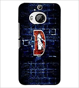 PrintDhaba GRANDbet D D-5541 Back Case Cover for HTC ONE M9 PLUS (Multi-Coloured)