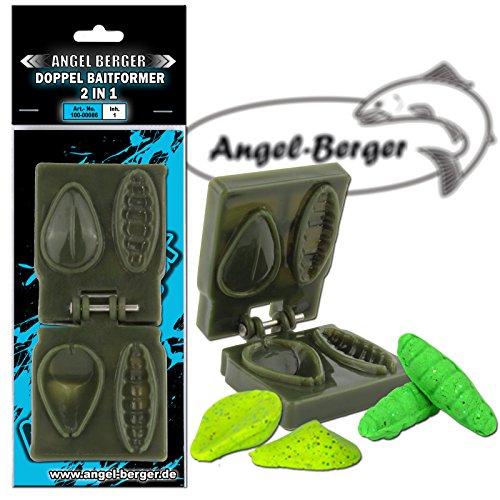 Angel-Berger Doppel Baitformer 2 in 1 Forellenteigformer