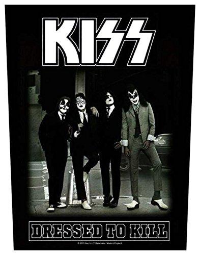 Preisvergleich Produktbild Kiss Dressed To Kill Rückenaufnäher