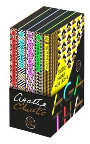 Coffret Agatha Christie  ( 5 titres )