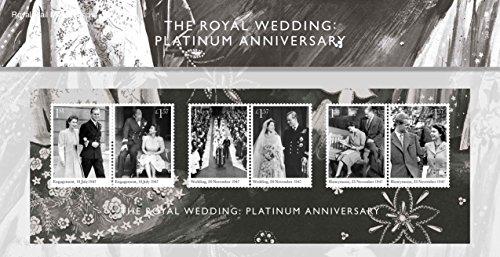 Royal Mail 2017 Royal Hochzeit Platinum JUBILÄUMS BRIEFMARKEN PRÄSENTATION Pack