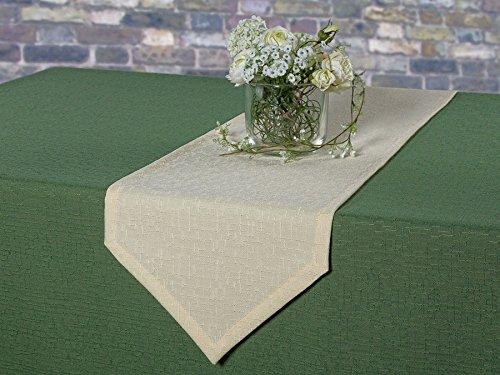 Gartentischdecke oval mit Bleiband im Saum, acrylbeschichtet, pflegeleicht in Designs:Rustika, grün...