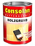 2,5 Liter Consolan Wetterschutz Holzgrund wässrig, schützt vor Bläue