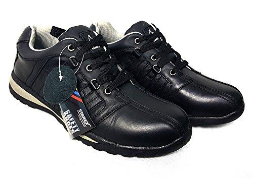 Sicherheit Trainer–Arbeiten & Utility Schuhe, rot / schwarz, 11 SW-Grey/Black