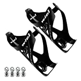 wiel Maketheone Full Carbon Fiber Ultralight Water Drinks Bottle Cage Holder for Cycling Bicycle Bike 2pc