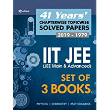 41 Years' Chapter/Topicwise Solved Papers JEE Physics+Chemistry+Maths