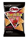 Chio Tortilla Chips Wild Paprika, 3er Pack (3 x 125 g)
