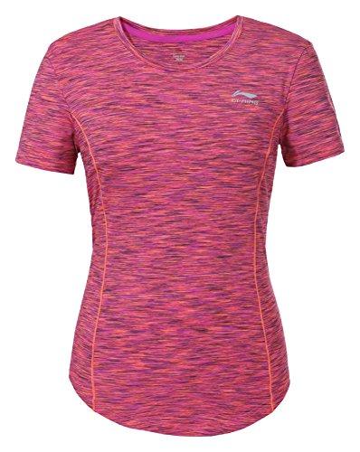 Li Ning Damen Gianna T-Shirt Rot