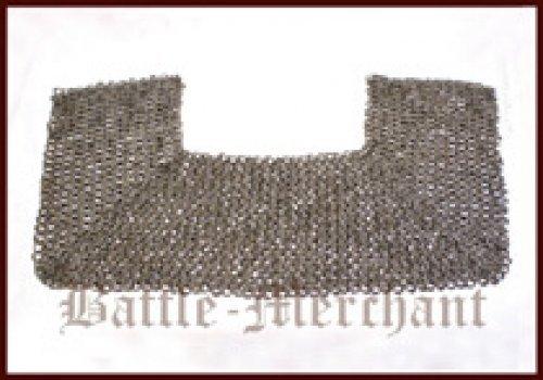 Collane FWM colletto, piatto anello cuneo rivettati con borchie, rivetti misti con inserti di carton