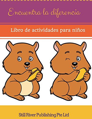 Descargar Libro Encuentra la diferencia:  Libro de actividades para niños de Still River Publishing Pte Ltd