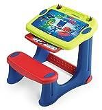 Smoby 420216 PJ Masks Schreibtisch, Blau/Rot/Grün