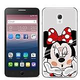 Easbuy Handy Hülle Soft Silikon Case Etui Tasche für Alcatel One Touch Pop Star 3G 5022X 5022D 5022 Smartphone Cover Handytasche Handyhülle Schutzhülle