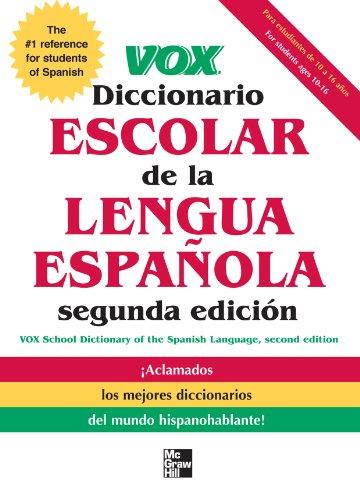 VOX Diccionario Escolar, 2nd Edition por Vox
