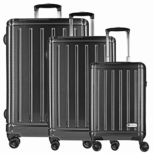 checkin-halifax-maleta-4-ruedas-con-ruedas-dobles-set-de-3-pzs-carbon-schwarz