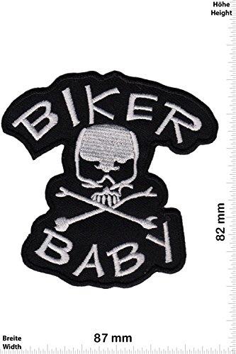 Patch - Biker Baby - schwarz - - Biker - Rocker - Chopper - Weste - Patches - Aufnäher Embleme Bügelbild Aufbügler