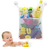 Cudon Baby Badespielzeug Storage Mesh Tasche waschbar Shampoo Dusche Net Organizer mit 3 Saugnäpfe,...