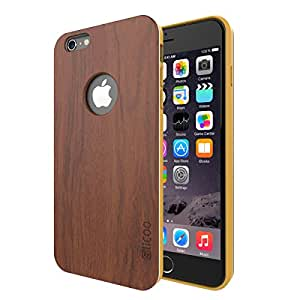 iPhone 6 Case, Slicoo [Nature Series] Bamboo Slim Covering Case for iPhone 6 (4.7 inch)