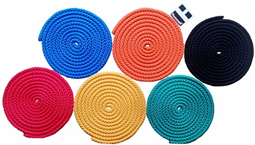 Universalseil Spielseil 6er-Set 8mm - 2,5m pro Seil von Hummelt®