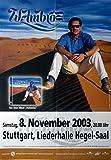 AMBROS, WOLFGANG - 2003 - Konzertplakat - Namenlos - Tourposter - Stuttgart