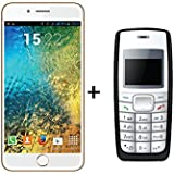 IKALL K1 5-Inch 4G Android Phone(Gold) With K72(Black)