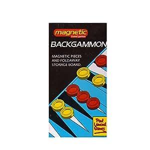 Pocket Magnetic Backgammon Set
