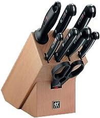 Zwilling Twin Gourmet Messerblock, Stahl, 320 x 115 x 290 mm, 9-teilig