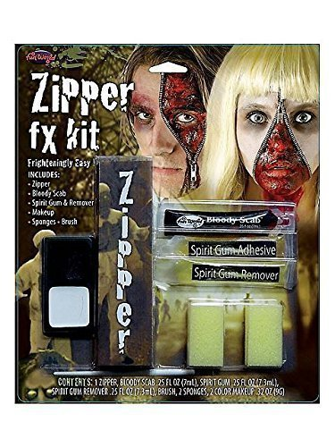 Zipper FX Kit - Accessory by Fun World (Zipper Fx Kit)