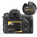 atFoliX Protecteur d'écran Nikon D750 Film Protection d'écran - Set de 3 - FX-Antireflex anti-reflet