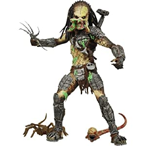 Alien VS. Predator: Requiem NECA Action Figure Series 4 Battle Damaged Unmasked Predator by Alien/Predator 10
