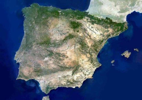 planet-observer-la-peninsula-iberica-vista-desde-el-espacio-poster