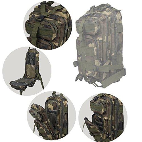 KT 30L Tactical Wander Trekking Rucksack Wandern Military Rucksack Herren Rucksack Tasche. Camouflage