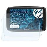 Bruni Schutzfolie für Tomtom GO Camper Folie - 2 x glasklare Displayschutzfolie