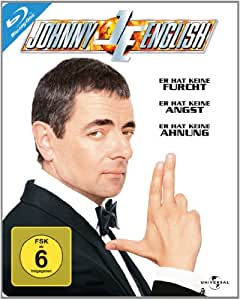 Johnny English - Steelbook [Blu-ray]