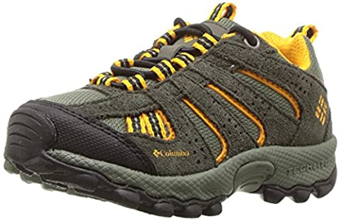 Columbia Childrens North Plains Jungen Trekking- & Wanderhalbschuhe, Braun (Cypress, Super Solarize 316), 28 EU, (Columbia Kinder Schuhe)