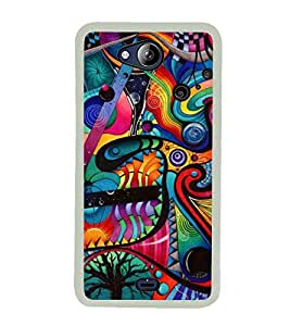 PATTERN Designer Back Case Cover for Micromax Canvas Play Q355
